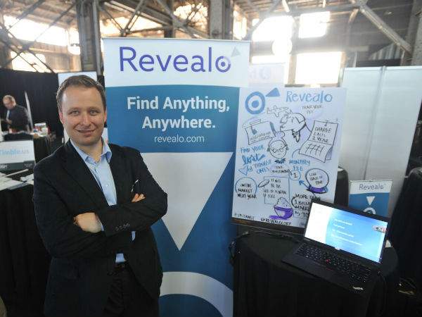 Tech Crunch Disrupt - Revealo